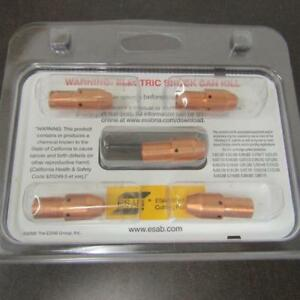 LOT OF 5 ESAB PLASMARC 0558005220 ELECTRODES 90/100 AMP NS, PT-37/38/39
