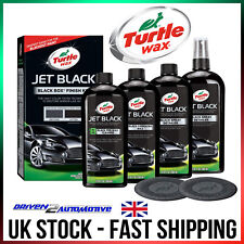 Turtle Wax Jet Black Detailing Kit For Black Paint High Quality Clean & Shine