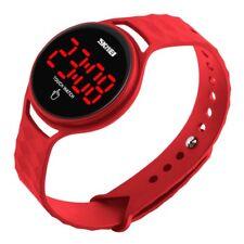 Waterproof Women Girl Fashion Digital LED Date Sport Bracelet Jelly Skmei Watch