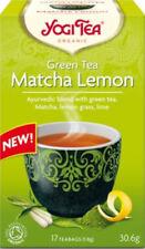 Yogi Tea Green Tea Matcha Lemon 17 Bags Blend Of Green Tea Lemon Grass And Lime