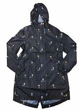 Joules Women's Golightly Printed Packable Waterproof Rain Coat