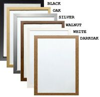 Picture Frame Modern Poster Frame Photo Frames Wood Effect Various Square Sizes