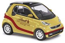 """Busch 46205 Smart Fortwo ´12 Lindt """"Maitre Chocolatier"""" gold/rot 1:87 NEU+OVP"""