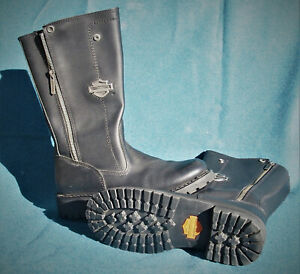 Harley Davidson Women's Leather Boots (Black) Edie size 8