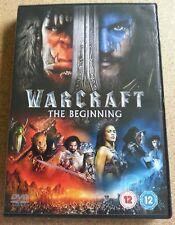 DVD, Warcraft, The Beginning, 2016