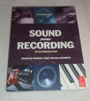 Sound and Recording, Fifth Edition: An Introduction (Music Technology) Book