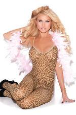 Sexy Leopard Catsuit Body Teddy leo 32 34 36 38 XS S M