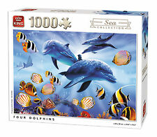 1000 Piece Sea Collection Jigsaw Puzzle - FOUR DOLPHINS 05666