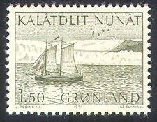 Greenland 1971 Postal Transport/Ships/Boats/Sailing/Sail/Nautical 1v (n42590)