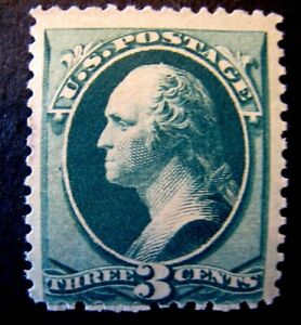 1879 US S# 184, 3c Washington, green Stamp, MNH OG