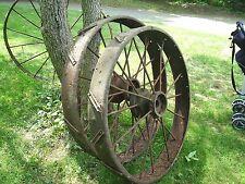 Steel Wheel Antique Farm Equipment Wheel