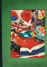 #VV1.  RUGBY UNION PROGRAM -   1996 BALLYMORE TENS TOURNAMENT