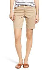 Caslon Women's Twill Shorts Sz. 2 (Tan Oxford) 149325