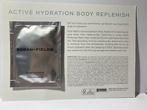Rodan and Fields Active Hydration Body Replenish Sample