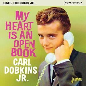 MY HEART IS AN OPEN BOOK - CARL DOBKINS JR. [CD]