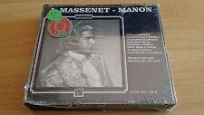 J.MASSENET - MANON - GONZALES/DI STEFANO/VALDENGO 1948 - 2 CD SIGILLATO (SEALED)