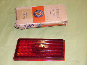 1941-6 Packard Clipper Tail lite lense, Right side.  NOS.