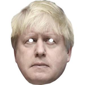 Boris Johnson Version 2 Politician Celebrity Card Mask Masks Are Pre-Cut TIKTOK