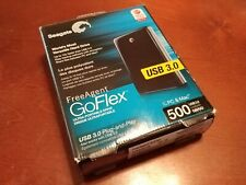 Seagate FreeAgent Go Flex 500GB USB 2.0 Plug-&-Play Portable External Hard Drive