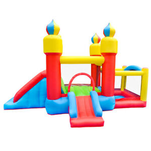 Hot Kids  Inflatable Bouncer House Playhouse Jumping Bounce Castle House