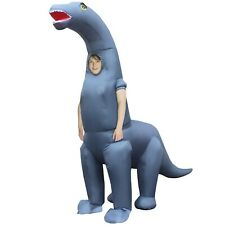Morph Costumes - Diplodocus Dinosaur Kids Boys or Girls Inflatable Blow Up Fa.
