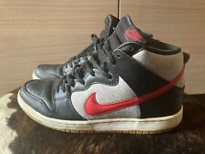 Nike Dunk SB High Black,Grey,Red Size UK9,EU44. 2013.