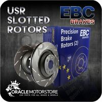 NEW EBC USR SLOTTED FRONT DISCS PAIR PERFORMANCE DISCS OE QUALITY - USR893