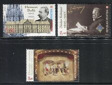 CROATIA 1995 FAMOUS MEN/ART/ARCHITECTURE/PAINTER/NATL THEATER/MUSIC/OPERA