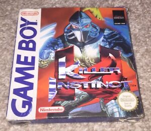 NO GAME! Killer Instinct Box Only Nintendo Gameboy Game Boy