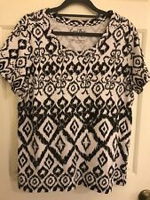Coral bay PL womens Short Sleeve Top