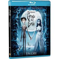 Tim Burton's Corpse Bride Blu-ray BRAND NEW DVD, Johnny Depp, Helena Bonham ~NEW