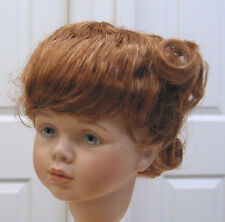 SWEETIE WIG Strawberry Blond  9-10 NEW short pigtails/bangs 4 girl/toddler doll