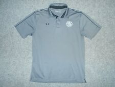 UNDER ARMOUR WHITE CLAWS HARD SELTZER MENS LARGE GOLF POLO SHIRT              B3