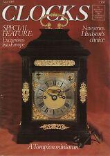 CLOCKS MAGAZINE (May 1985) -  LIVERPOOL CLOCK CASES -  TOMPION - ANDREW DICKIE