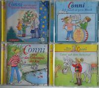 Conni 4 x CD auf dem Reiterhof / Geheimnis der Koi / Conni macht Musik mit Texte