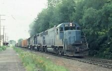B&M Emd Gp38-2 - Number - 211 + 3 w/Train - Orig - ralx1669