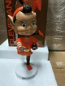 Cleveland Browns Brownie Elf Mascot Bobblehead Bobble Head New in box