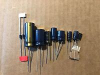 Marantz 2215 Power Supply Capacitor Upgrade Set High-Quality Receiver Recap Kit