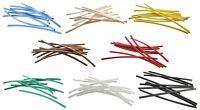 Set Schrumpfschlauch 2,4 auf 1,2 mm 8 Farben à 1 Meter ideal für Litze + LEDs