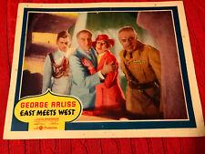 East Meets West 1936 Gaumont British lobby card Lucie Mannheim Godfrey Tearle