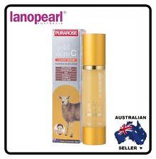 [ lanopearl ] PURAROSE gold stem C luxury serum Hydration and Oil control