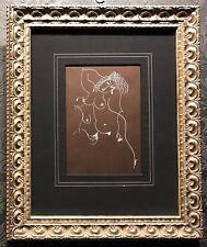 "Yuri YUROZ Original Drawing ""Gentle Afternoon"", COA"