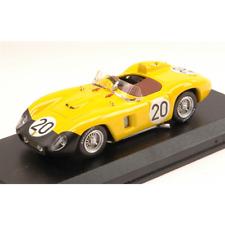FERRARI 500 TR N.20 29th LM 1956 DEN CHANGY-BIANCHI 1:43 Art Model Die Cast