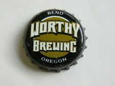Beer Bottle Crown Cap ~*~ Worthy Brewing Co ~*~ Bend, Oregon Brewery Breweriana