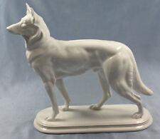 schäferhund Figur Fraureuth Porzellanfigur hund porzellan 1930 otto richter