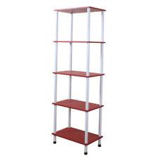 Bibliothèques, étagères et rangements rayonnages rouges pour le salon