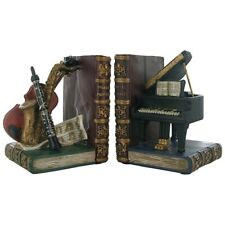 Classical Musical Instruments Shelf Tidy Bookends