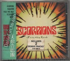 TAIWAN OBI CD Scorpions: Face the heat 1993 FIRST EDITION SEALED