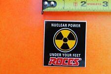 ROCES Inline Skates Nuclear Power ROLLERBLADING Vintage INLINE Skating STICKER