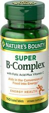 Nature Bounty Super B Complex W/c Tab 150ct